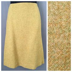 "60's Wool Wiggle Skirt Midi Skirt Tan Olive Tweed Wool Multicolored Wool Skirt Vintage Pencil Skirt Rockabilly Pinup Mod Skirt Bohemian 23"" by entangledgemvintage on Etsy https://www.etsy.com/listing/261761773/60s-wool-wiggle-skirt-midi-skirt-tan"