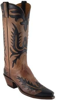 Lucchese Classics - L7045 - Your choice of Toe and Heel, New Leaf Wingtip, Foxx, Quarter Inlay, Greer Collar, Looped Pullstraps with Overlay