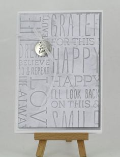 Craft Queen Blog: card featuring embossing