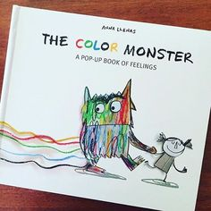 The Color Monster - perfect book for helping young children understand emotions and also about self regulation