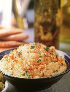 Salsa de Garbanzos y Sésamo   Recetas Veganas Vegetarianas