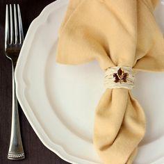 Simple Fall Napkin Rings (guest post) ~ Madigan Made { simple DIY ideas }