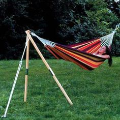 Wooden Garden & Patio Hammocks for sale Hammocks For Sale, Tent Stove, Portable Mattress, Canvas Tent, Bell Tent, Garden Office, Wooden Garden, Outdoor Gear, Camping