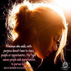 A woman who walks in purpose WILD WOMAN SISTERHOODॐ #WildWomanSisterhood #wildwmanteachings #wildwoman #wildwomanmedicine #embodyyourwildnature