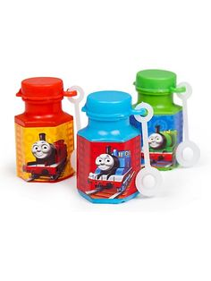 Thomas Bubbles - Boys Thomas Party Supplies $4.99 /12