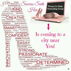 Success Suit Her & Women In Heels Networking Group - IS COMING TO A CITY NEAR YOU!