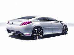 .Peugeot 508 design