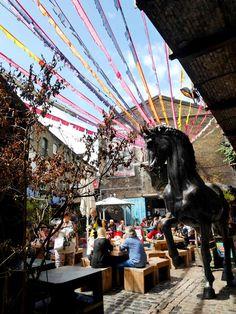 Camden Lock Market, Camden Town, London, UK Recommended by https://www.extraordinarylondon.com/