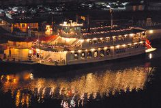 Arkansas Queen riverboat. Cruise the river.  Docked in North Little Rock, AR