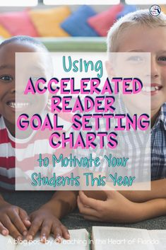 Using Accelerated Reader goal-setting charts in your classroom can motivate your students to read more this year! Visual reminders are so important for young students to continuously work toward their goals. Having goals to strive for on these chalkboard and polka dot charts will inspire students to work hard at taking Accelerated Reader comprehension tests so they can move up the chart! This post quickly explains how you can use them to motivate your readers! #AcceleratedReader… Reading Resources, Teaching Reading, Student Learning, Fun Learning, Accelerated Reader, Reading Goals, 3rd Grade Reading, Reading Response, Teaching Language Arts