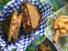 Custom Blend Beef Patty Melt with Pimento Cheese (Very Interesting Pimento Cheese Recipe) by Kelsey Nixon