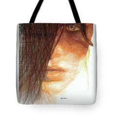 Tote Bag - Studio Portrait In Pencil 215