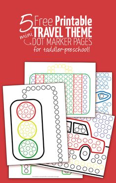 Yay! You can download these printable travel sheets for the do a dot mini bingo markers free! It's a great kids activity, especially for traveling with toddlers...