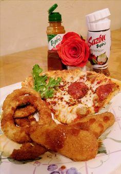 #tajin #tajin sazon #pizzas and sazon tajin