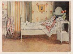 Convalescence by josefskrhola, via Flickr Carl Larsson's home