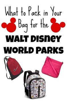 The Disney ExpEARience: What to Pack in Your Bag for the Walt Disney World Parks #vacationtips