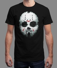 """""""Friday Night Terror"""" is today's £8/€10/$12 tee for 24 hours only on www.Qwertee.com Pin this for a chance to win a FREE TEE this weekend. Follow us on pinterest.com/qwertee for a second! Thanks:)"""