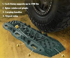 Smittybilt Element Ramps - Basically a heavier plastic, MAXXTRAX for half the price... I can dig it..