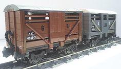 12t Cattle wagons (bricktrix) Tags: train lego freight legotrains cattlewagon