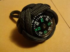 How To Make A Paracord Compass Fob