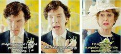 Mrs.Hudson, always honest xD