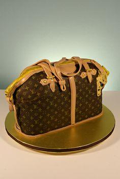 Louis Vuitton Purse Cake | Louis Vuitton Purse cake | Flickr - Photo Sharing!