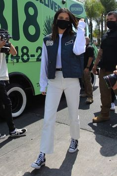 Kendall Jenner Video, Kendall Jenner Outfits, Kylie Jenner's Tattoos, Angeles, New Fashion, Fashion Outfits, Models Off Duty, Kardashian Jenner, Celebrity Style