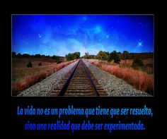 La vida no es un problema • Frases para facebook