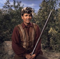 Daniel Boone (Fess Parker) - Daniel Boone was a man, just a big man...  #ClassicTV