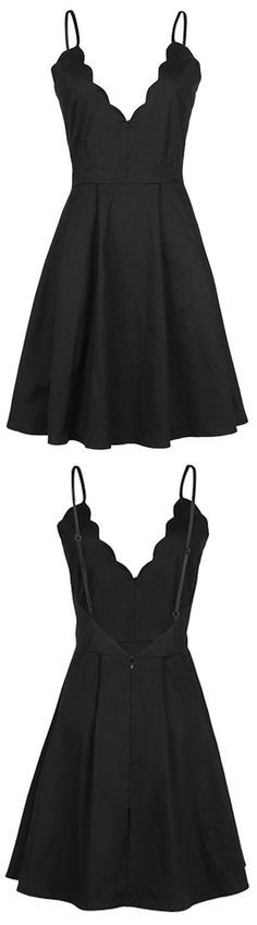 cute little black dress,backless homecoming dress,MB 19
