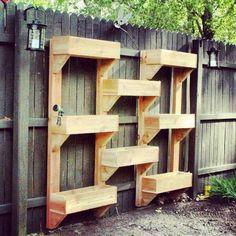 Planter wall boxes