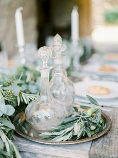 This Organic Al Fresco Mediterranean Wedding Inspiration from Mireia Cordomí and A todo Confetti features an open lace back dress. Wedding 2015, Chic Wedding, Wedding Details, Olive Wedding, Greek Wedding, Sage Wedding, Tuscan Wedding, Wedding Dreams, Wedding Colors