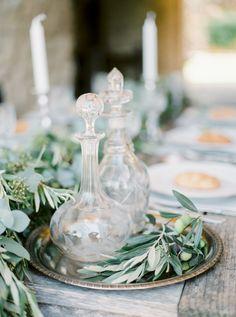 Organic Al Fresco Mediterranean Wedding Inspiration Gallery - Style Me Pretty
