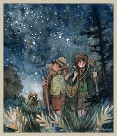 Leaving Hobbiton by ullakko.deviantart.com on @deviantART