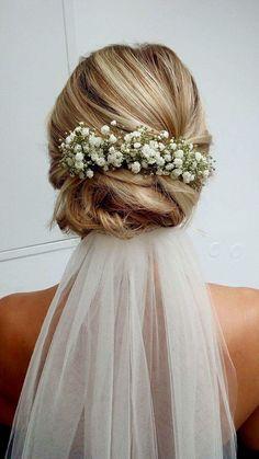My wedding hairstyle <3