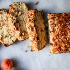 Pumpkin Cider Beer Bread with Bacon and Cheddar. | How Sweet It Is | Bloglovin'
