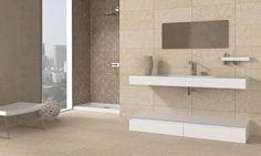 deluxe beige bathroom Beige Bathroom, Small Bathroom, Bathroom Ideas, Baño Color Beige, Color Topo, Living At Home, Bathtub, House Design, Furniture