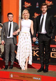 See Jennifer Lawrence's Complete 'Hunger Games' Red Carpet Evolution in 32 Photos   - ELLE.com