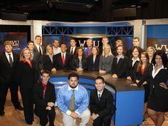 WVU News Broadcast Team