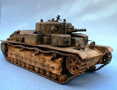 Soviet T-28 Multi-Turret Medium Tank 1/35 Scale Model