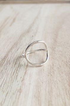 Karma ring, karma, open circle, circle ring, sterling silver, sterling silver karma ring, minimalist jewelry, fall jewelry, fall ring by CallieJewelry on Etsy https://www.etsy.com/listing/244138102/karma-ring-karma-open-circle-circle-ring