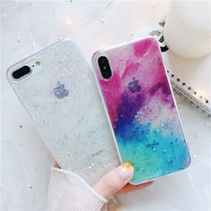 Diy Iphone Case, Iphone 7, Marble Iphone Case, Iphone Phone Cases, Phone Covers, Kawaii Phone Case, Cute Phone Cases, Bff Cases, Gaming Girl