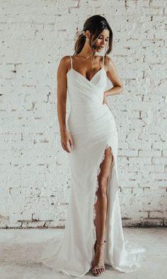 Western Wedding Dresses, Dream Wedding Dresses, Bridal Dresses, After Wedding Dress, Ceremony Dresses, Event Dresses, Party Dresses, Sheath Wedding Gown, Dream Wedding