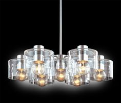 Transparence Round Chandelier by Sonneman Lighting Round Chandelier, Lighting, Bedroom Lighting, Light Fixtures, Statement Lighting, Contemporary Pendant Lights, Light Standard, Sonneman Lighting, Lighting Sources