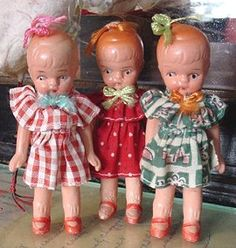 antique betty boop dolls - 1930's, Japan