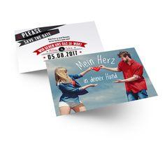 Sie heiraten im Boho-Stil? Dann haben wir hier die perfekte Save the Date Karte für Sie gefunden. Save The Date Karten, Boho Stil, Getting Married, Invitations