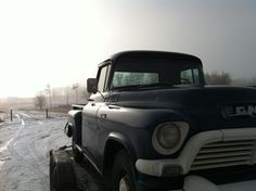 Ty Borden's classic GMC truck is being moved to another location for a scene in Heartland.