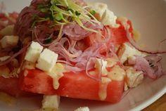 Watermelon and Feta Salad @ Harth Restaurant McLean VA !
