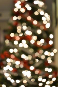 The season of twinkling lights.