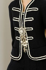 chanel - military jackets